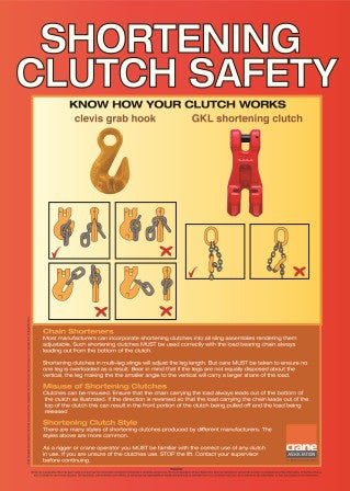 A2 Shortening Clutch Safety Poster