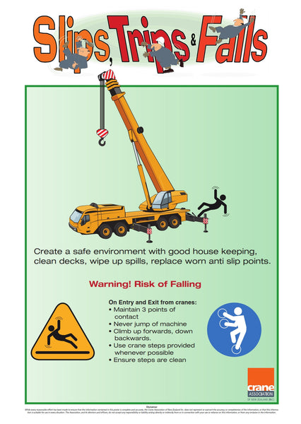 A2 Mobile Slips-Trips-Falls Poster