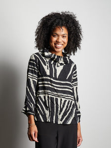 Liv by Habitat HAILEY COWL PULLOVER TRIBAL