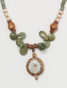 Heather Haase SHELL SIMPLE NECKLACE