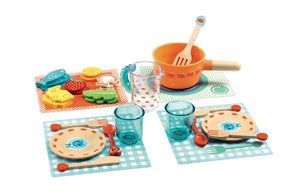 Djeco DINNER TIME PLAY FOOD - 18+ Months
