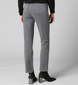 Jag OLIVIA HIGH-RISE STRAIGHT TWILL PANT