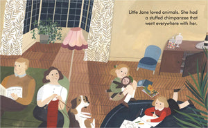Little People, Big Dreams book: JANE GOODALL
