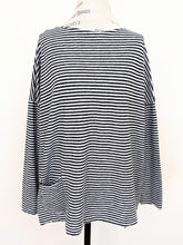 Load image into Gallery viewer, Cut Loose POCKET PULLOVER STRIPE TOP