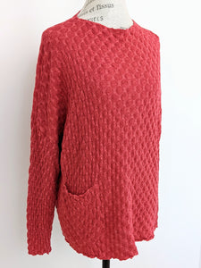Cut Loose POCKET PULLOVER SWEATER - Originally $99