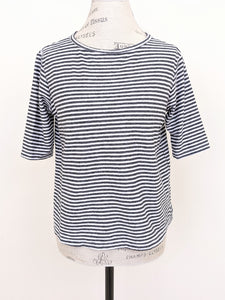 Cut Loose STRIPE ELBOW SLEEVE TEE