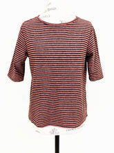 Load image into Gallery viewer, Cut Loose STRIPE ELBOW SLEEVE TEE