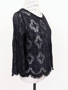 Cut Loose LACE BOXY TOP