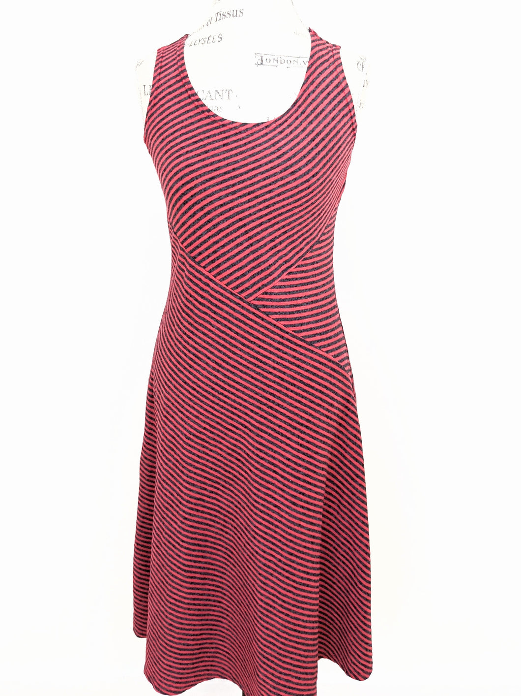 Cut Loose STRIPE TANK DRESS