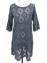Load image into Gallery viewer, Cut Loose TWIGGY LACE TUNIC