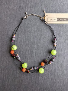 Teresa Goodall MULTI SHORT NECKLACE
