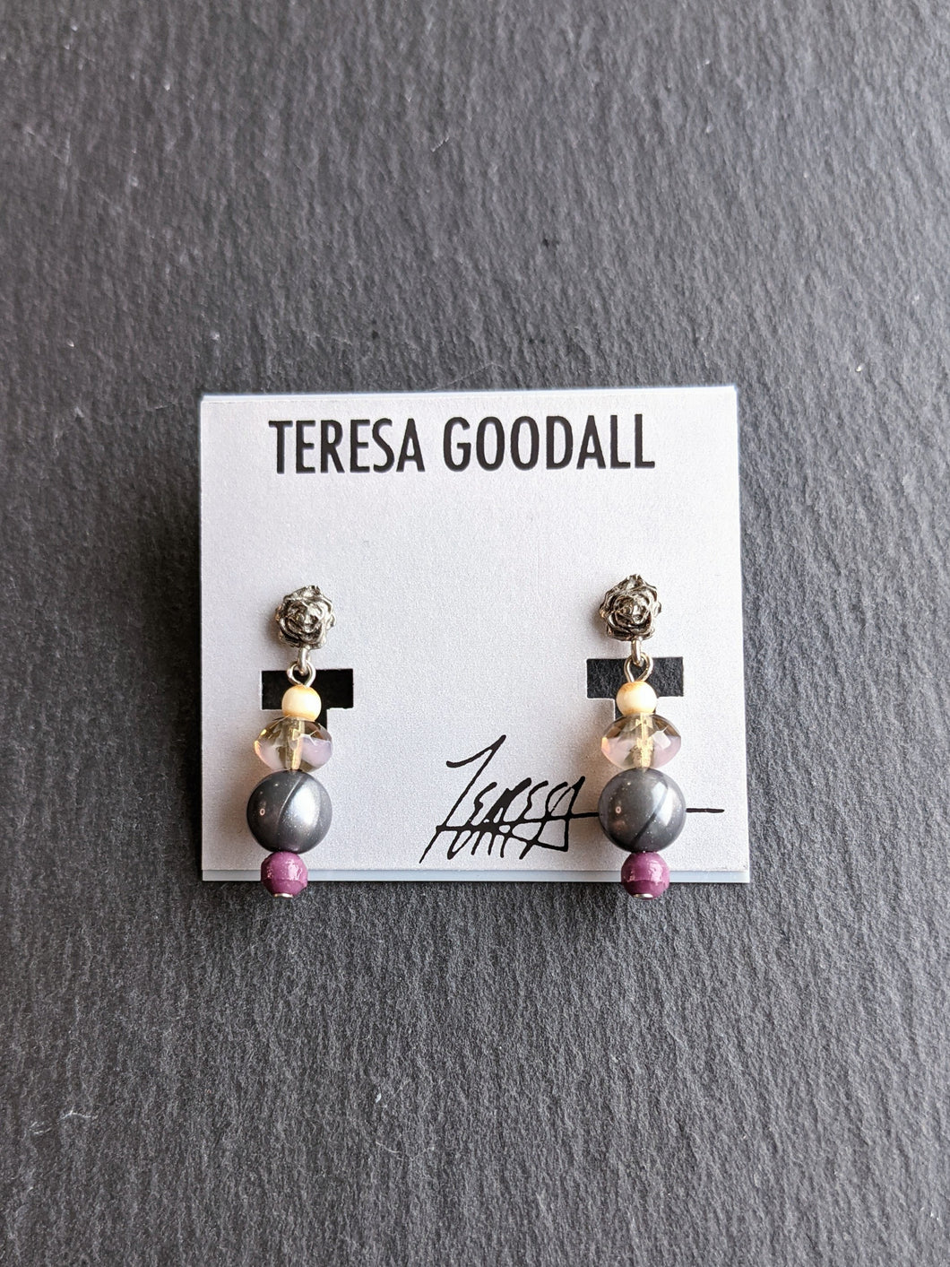 Teresa Goodall BEAD POST EARRING