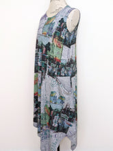 Load image into Gallery viewer, Inoah ASYMMETRIC TANK DRESS