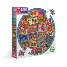 Load image into Gallery viewer, eeboo BUTTERFLY PUZZLE 500 PIECES