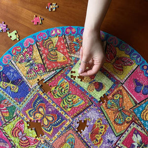 eeboo BUTTERFLY PUZZLE 500 PIECES