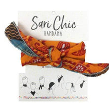 Load image into Gallery viewer, World Finds SARI CHIC BANDANA