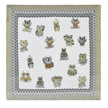 Load image into Gallery viewer, Dupatta OWL SQUARE SCARF