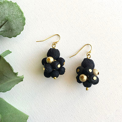 World Finds STARRY NIGHT CLUSTER EARRING