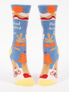 Blue Q CREW SOCK TRAVEL