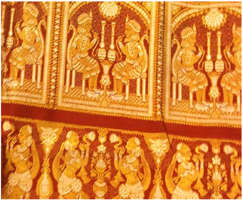 The Motifs of the Baluchari Sarees