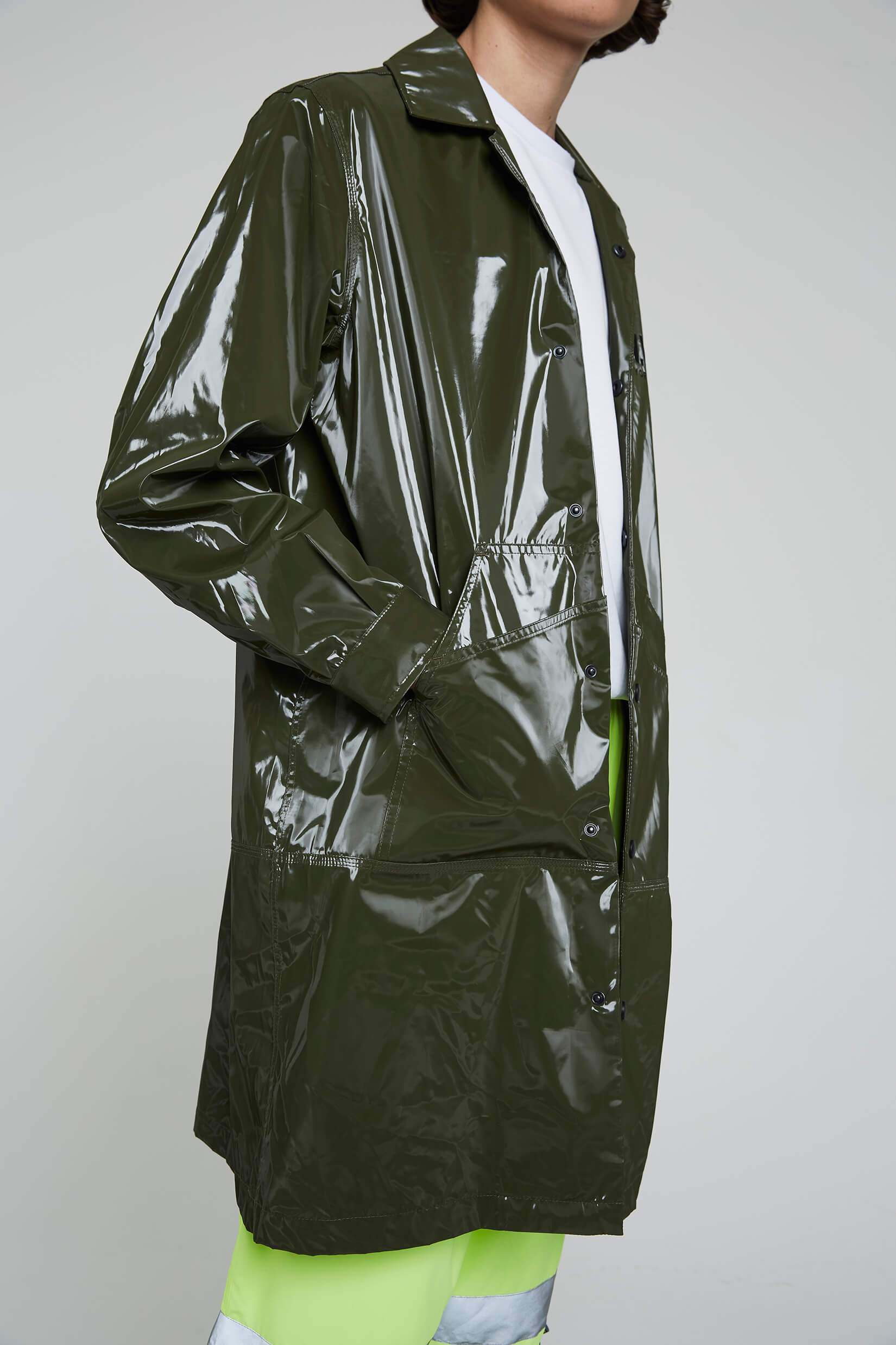 Long Raincoat - Green