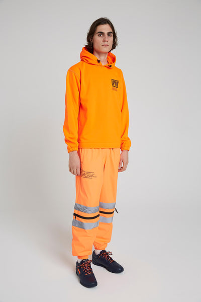 Work Hoodie - Orange