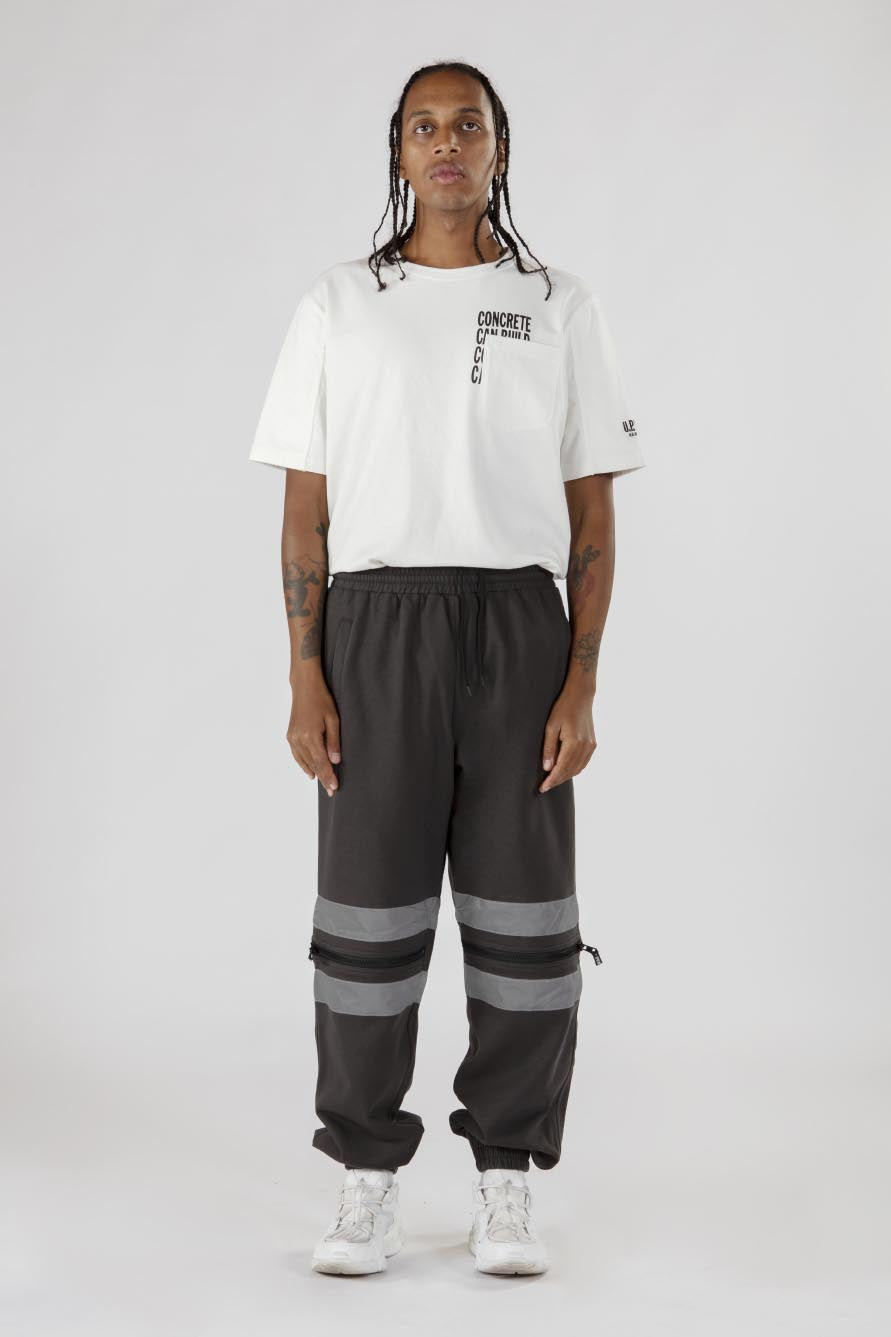 Divisible Track Pants - Grey