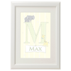 Personalised Alphabet Letter in Lemon Yellow