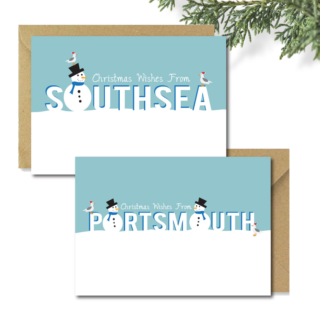 Portsmouth & Southsea Christmas Card Packs