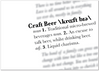 Craft Beer Definition Print