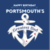 Portsmouth Greatest Dad Card