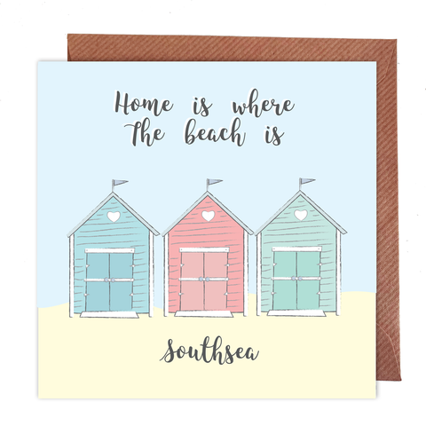 Home is where the beach is, Southsea Card