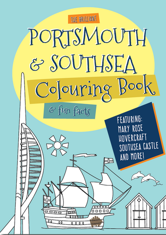 Portsmouth & Southsea Colouring Book