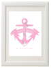 Personalised Anchor Baby Print