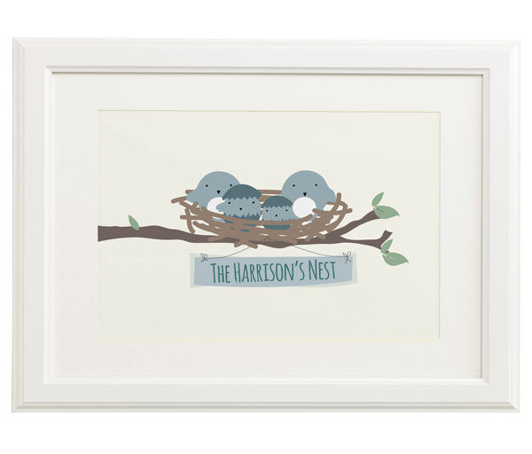Personalised Nest Print