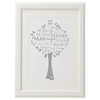 Personalised Family Tree 'Beech' design