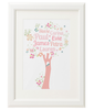 Personalised Family Tree 'Blossom' Design