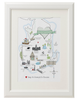 Personalised Map of Portsmouth in Full Colour