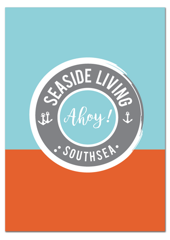 'Seaside Living' Southsea Print