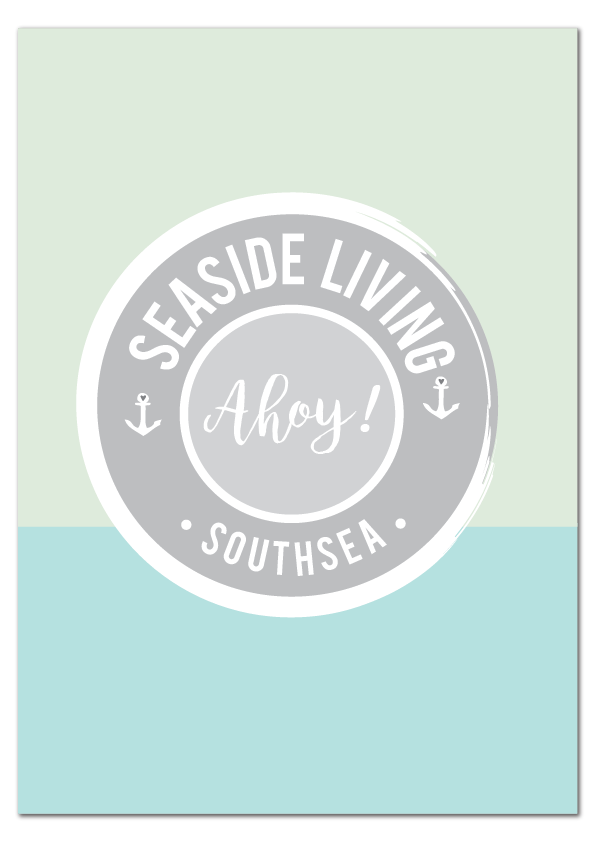 'Seaside Living' Print