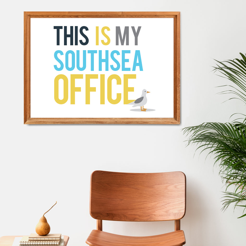 Personalised 'This is My Office' Print