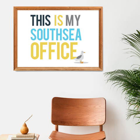 This is My Southsea Office Print
