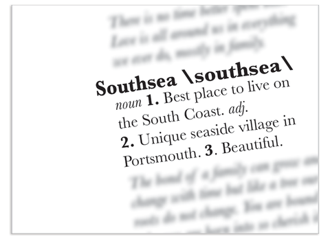 Southsea Definition Print
