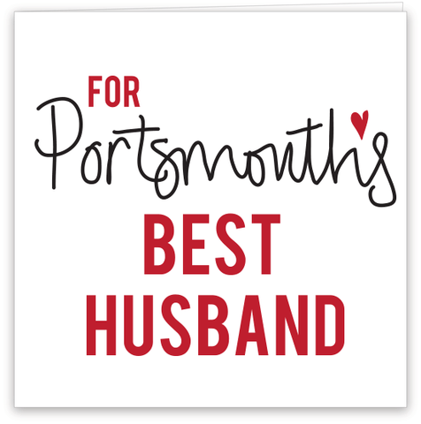 Portsmouth's Best Husband Card