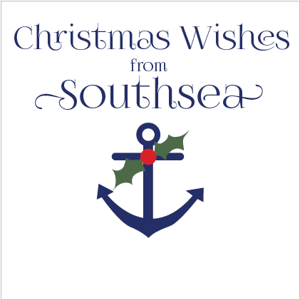 Christmas Wishes From Southsea Card