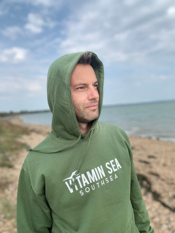 Vitamin Sea Southsea Hoodie - Sea Green