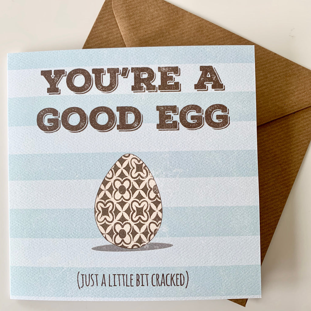 You're a good egg Card