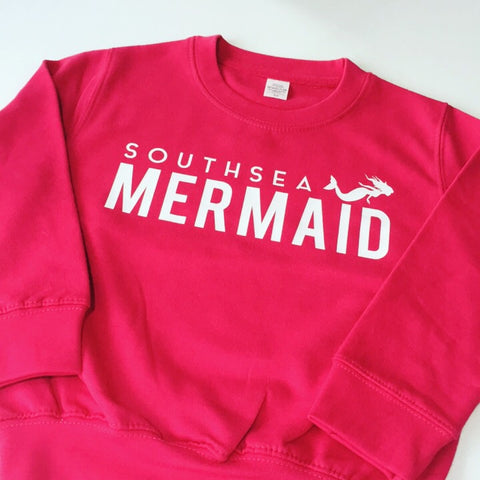 Southsea Mermaid Children's Sweatshirt