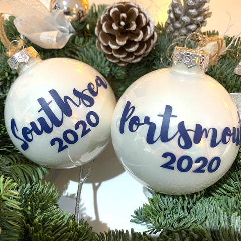 Portsmouth and Southsea 2020 Bauble