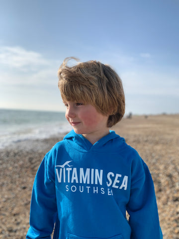 Kids Vitamin Sea Southsea Hoodie - Pacific Blue
